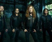İstanbul'dan Megadeth geçti!