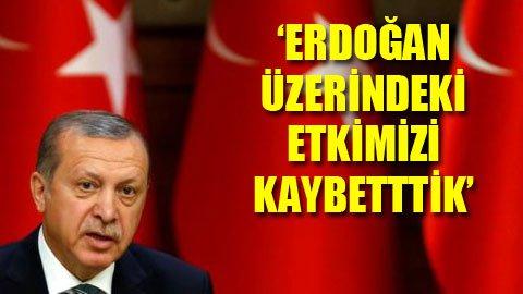 'Erdoğan havuçları yedi, sopaları kırdı'