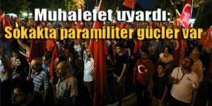 'Erdoğan ve AKP darbe fırsatçılığı yapıyor'