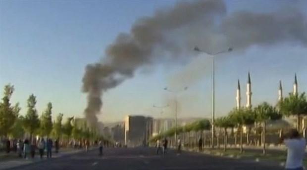Erdoğan'ın Sarayı yakınında bomba atıldı