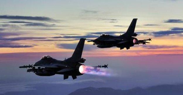 Erdoğan F-16'lara emri verdi