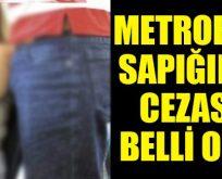 Metrobüs sapığının cezası belli oldu
