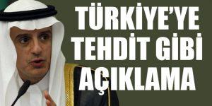 Türkiye'ye tehdit gibi açıklama