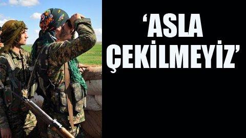 YPG'den açıklama