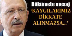CHP lideri: Gerekirse AYM'ye gideriz