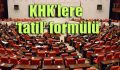 AKP Meclis'i oyalıyor!