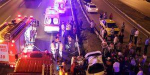 E-5'te sabaha karşı kaza