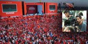 BirGün muhabiri 'Demokrasi Mitingi'nden kovuldu
