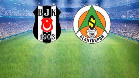 Beşiktaş 4-1 Alanyaspor