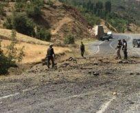 Bitlis'de bombalı saldırı