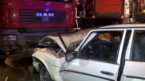 İstanbul'da feci kaza: 3 ölü, 3 yaralı!