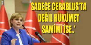 CHP'den hükümete açık çağrı