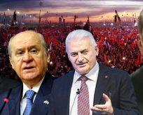 Darbe girişimi HDP'siz birleştirdi