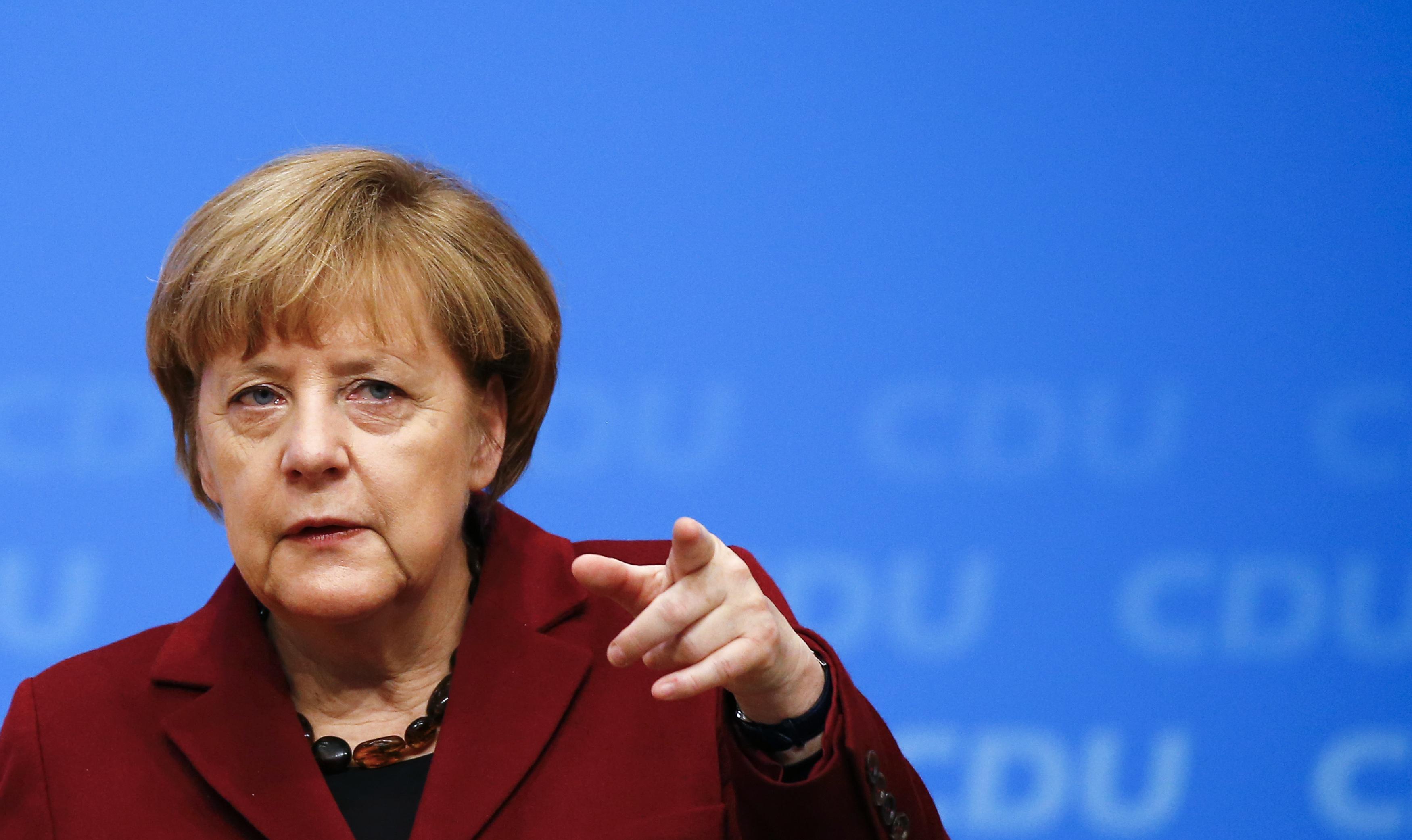 Merkel'den Türkiye'ye 'basın özgürlüğü' eleştirisi
