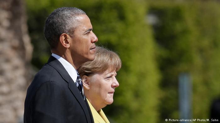 Obama ve Merkel'den Halep açıklaması