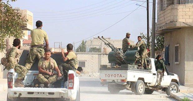 IŞİD sınırdan tamamen temizlendi!