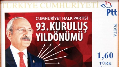 CHP liderine pul sürprizi