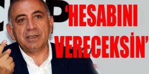 CHP'li Tekin Övür'e 3 gün süre verdi