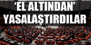 AKP'den korsan yasama