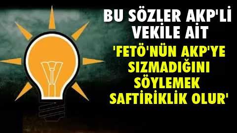 'AKP'de temizlik operasyonu yapılmalı'