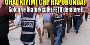 İşte CHP'nin OHAL raporu