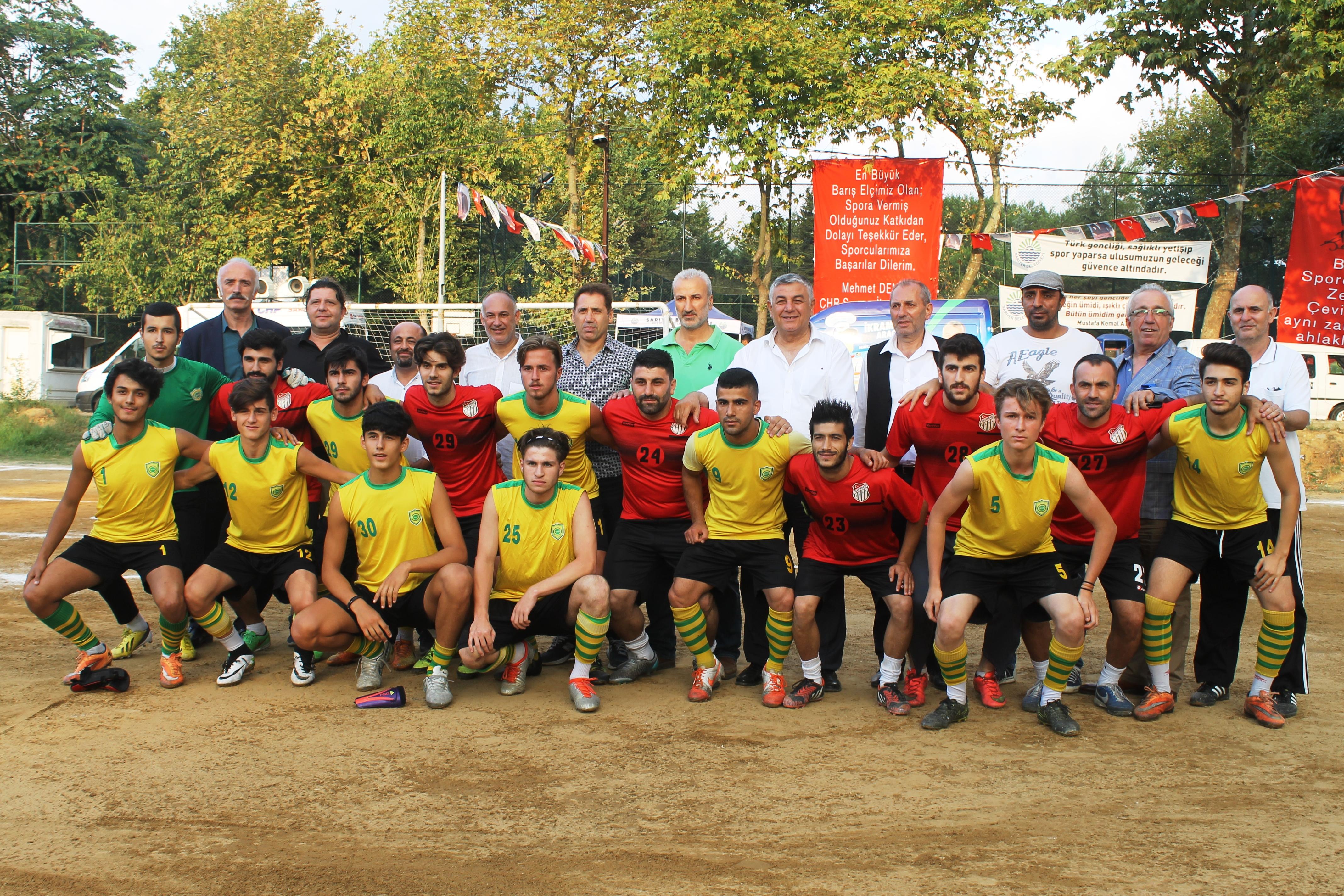 Sokak Futbolunda bol gollü final.