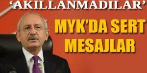 CHP lideri: Konuşmasından rahatsız oldum