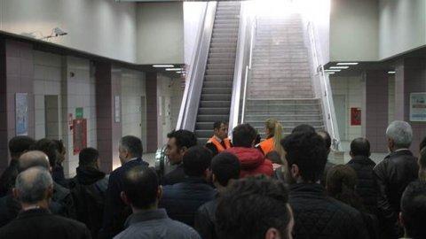 Marmaray'da arıza