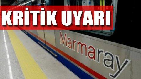 Marmaray'da su sızıntısı yama tutmuyor