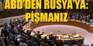 BM'de ABD – Rusya gerginliği