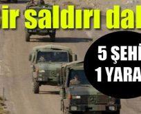 Silvan'da askeri aracı bombalı saldırı