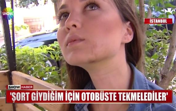 İstanbul'da bir kadın, şort giydiği için otobüste saldırıya uğradı