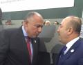 Türkiye ve Mısır dışişleri bakanları arasında görüşme