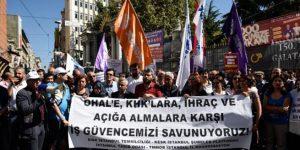 OHAL ve kanun hükmünde kararnameler protesto edildi