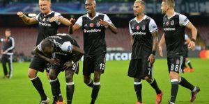 Beşiktaş Napoli'de tarih yazdı