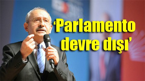 CHP lideri: AKP kendi Baas rejimini kuruyor