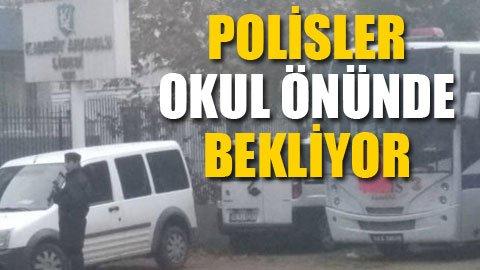 Kadıköy Anadolu Lisesi'ne polis ablukası!