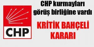 CHP'den kritik 'Bahçeli' kararı