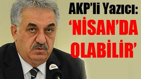 AKP referandum için tarih verdi!