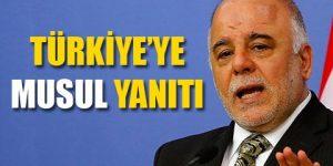 Irak: Türkiye'ye izin vermeyeceğiz
