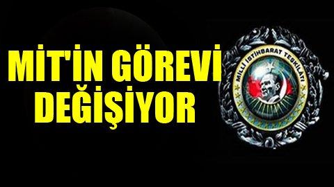 İstihbarat Erdoğan'a bağlanacak
