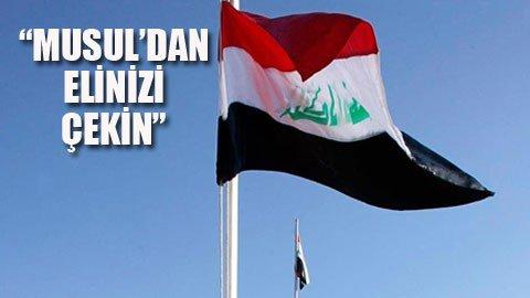Irak'tan Erdoğan'a tepki