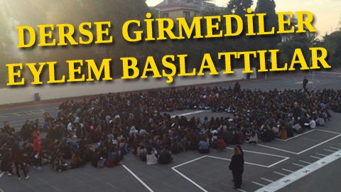 Kadıköy Anadolu Lisesi'nde sıcak saatler