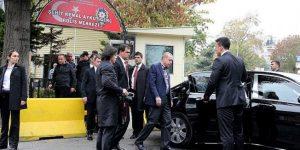 Cumhurbaşkanı'ndan Tarabya ziyareti.