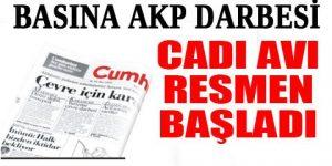 Cumhuriyet Gazetesi'ne operasyon!