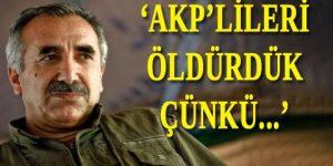 Bölgedeki AKP'lilere ölüm tehdidi