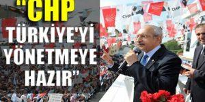 Kılıçdaroğlu: CHP projelerin partisidir