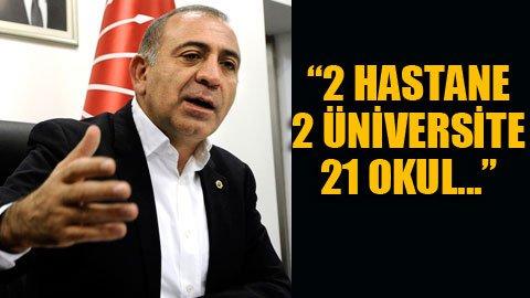 CHP'li Tekin'den Bakan'a arazi cevabı