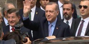 Erdoğan ve Davutoğlu yan yana