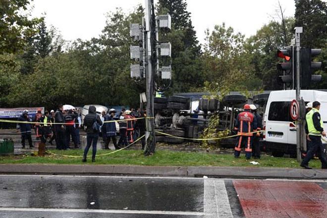 Görgü tanıkları kazayı anlattı.